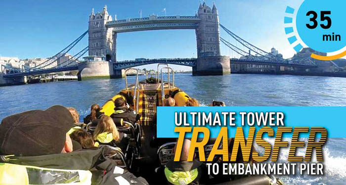 Travel on the river thames