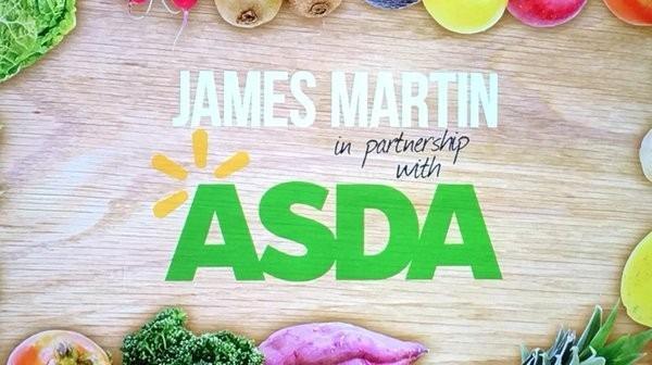 Asda Jamed Martin logo