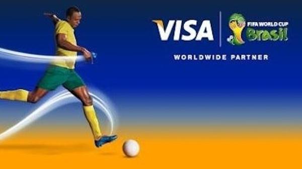 Visa Usain Bolt logo