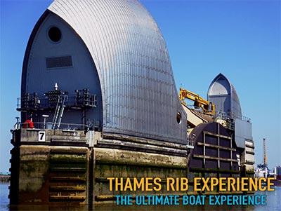 Thames Barrier Close views
