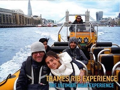 Thames Speedboat Date ideas