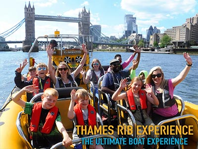 Thames RIB Experience - Best Activity to do in London