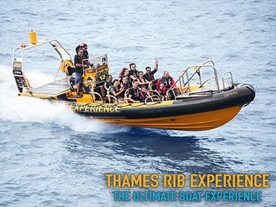 Thames RIB Experience - A unique boat tour