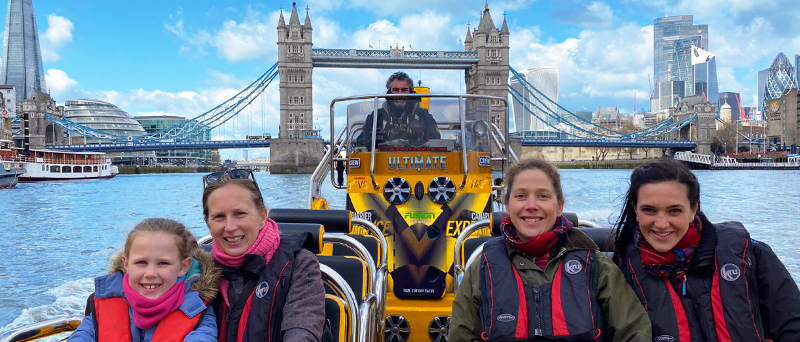 Back on the River Thames Thames RIB Experience