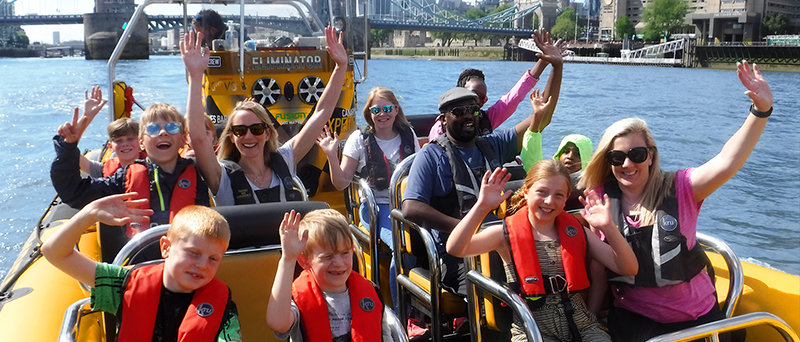 Thames RIB Experience - Speedboat tour in London