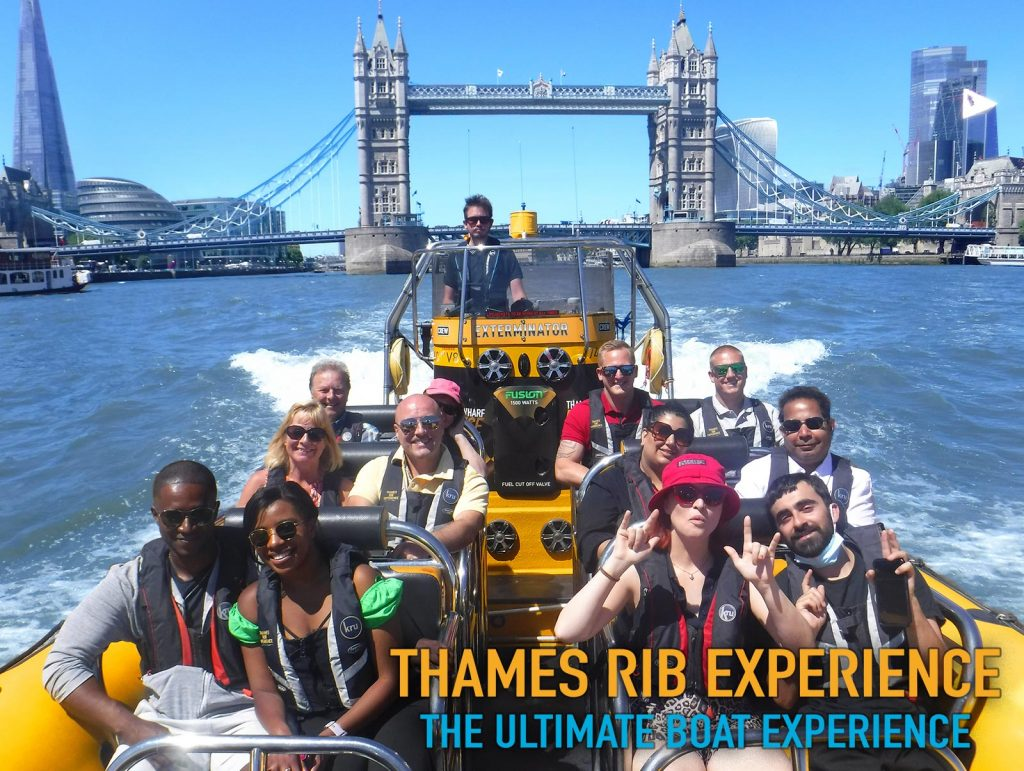 Thames RIB Experience - Best London Fun