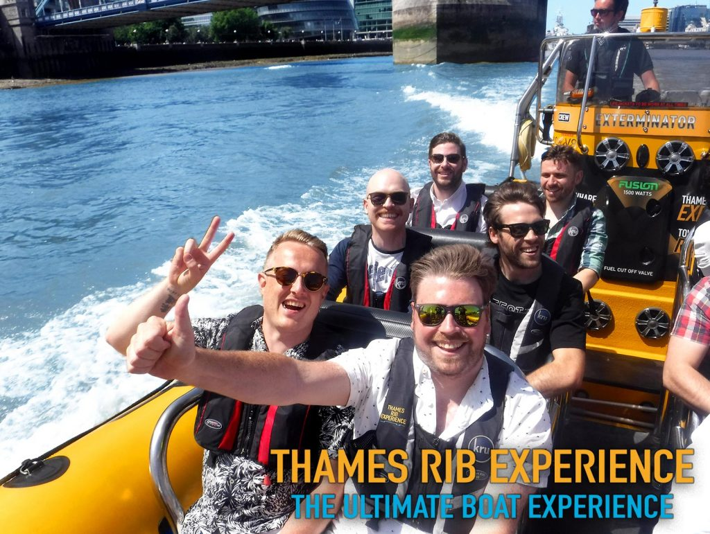 Thames RIB Experience - Day out with friends!